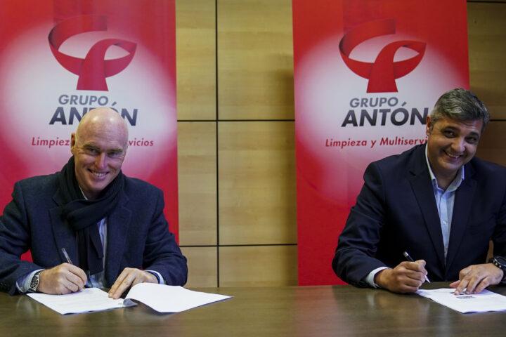Grupo Antón, patrocinador principal de la Escuela Lalo García