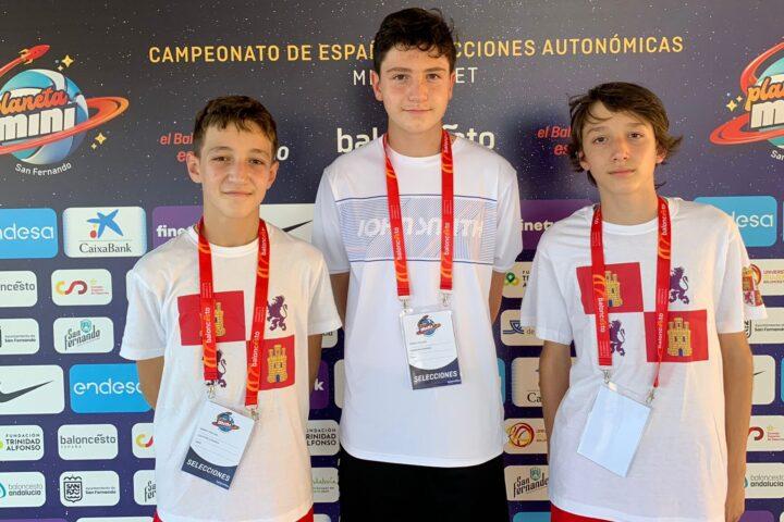 Tres ardillas de la Escuela Lalo García Grupo Antón, presentes en el Planeta Mini 2021 de San Fernando